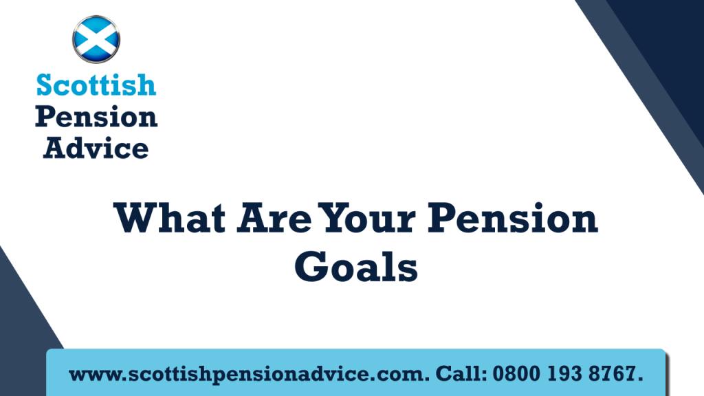 Pension Goals